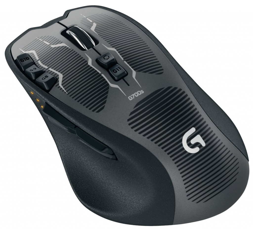 Logitech G700s Gaming Mouse Rechargeable