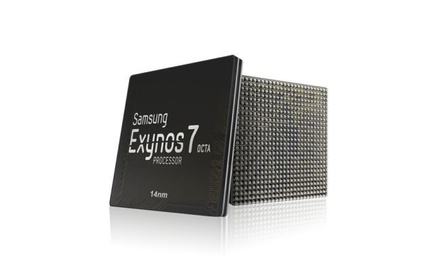 Exynos 7, 64-bit octa-core chip.