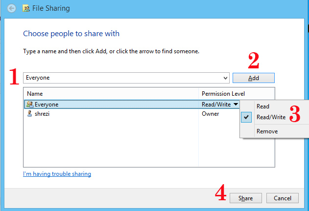 share-with-everyone-setting