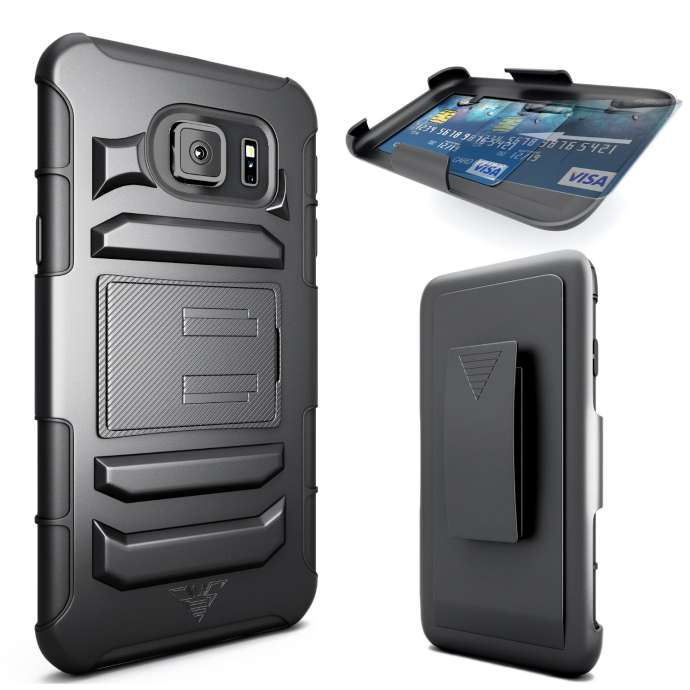 CellBee Dual Layer Heavy Duty Holster galaxy s6