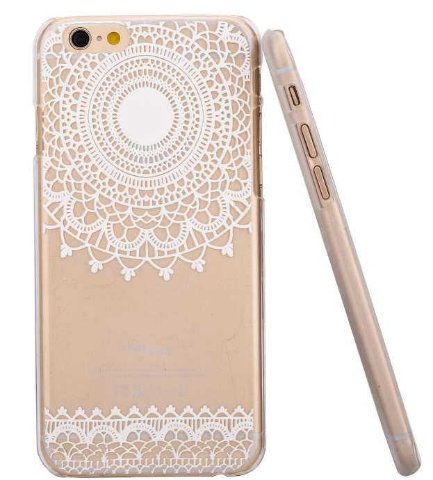 Hundromi Henna White Floral iPhone 6