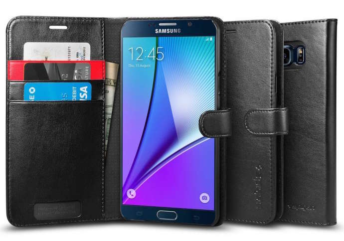 Spigen Wallet Galaxy Note 5 Case