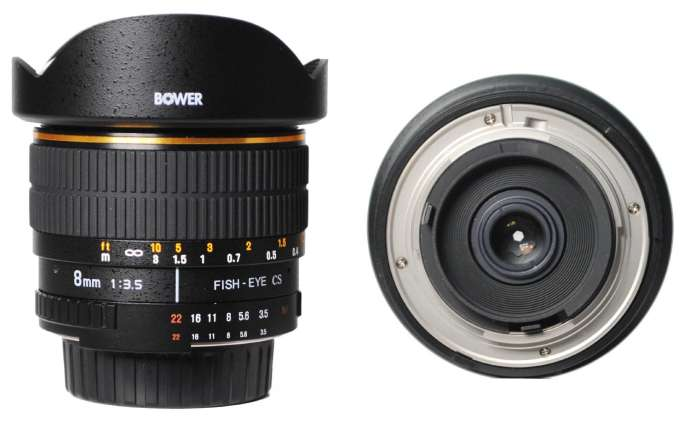 Bower Ultra wide angle lens