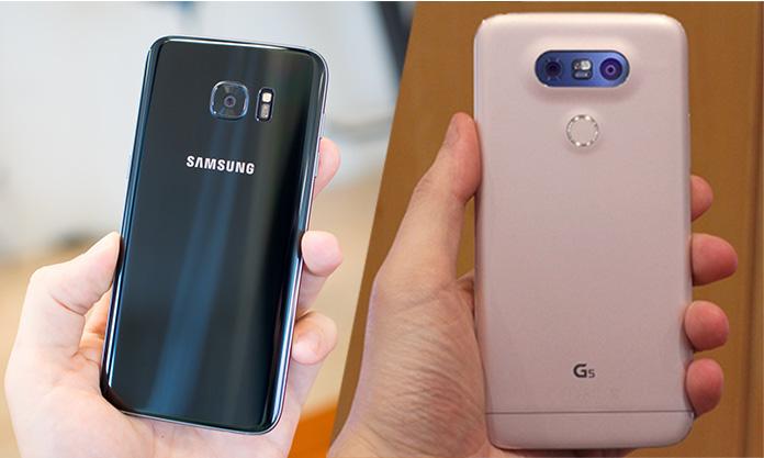 Galaxy S7 vs LG G5