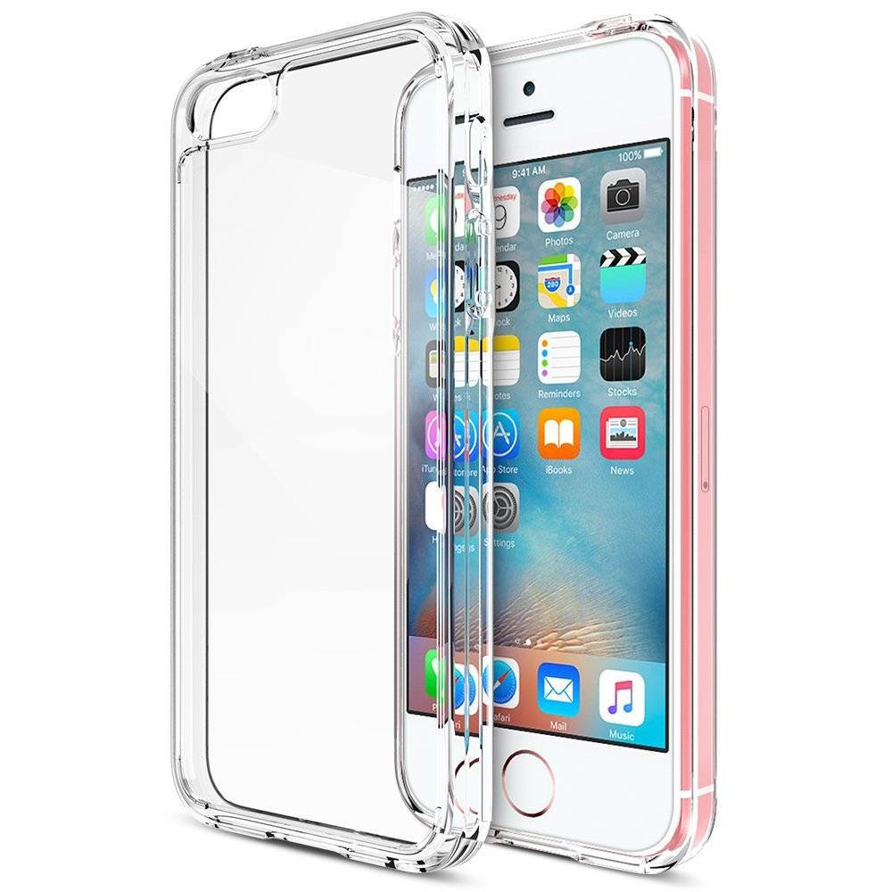 Trianium IPhone SE Clear Cushion Case