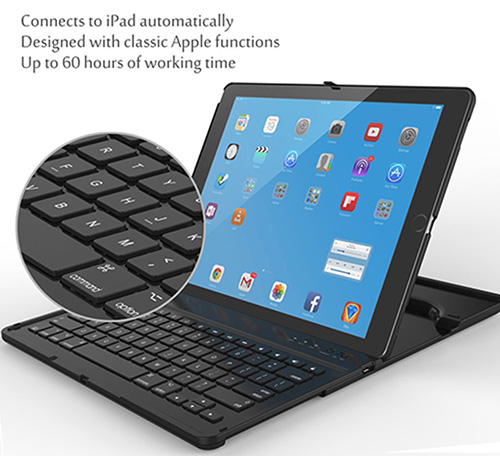 iPad Pro keyboard case