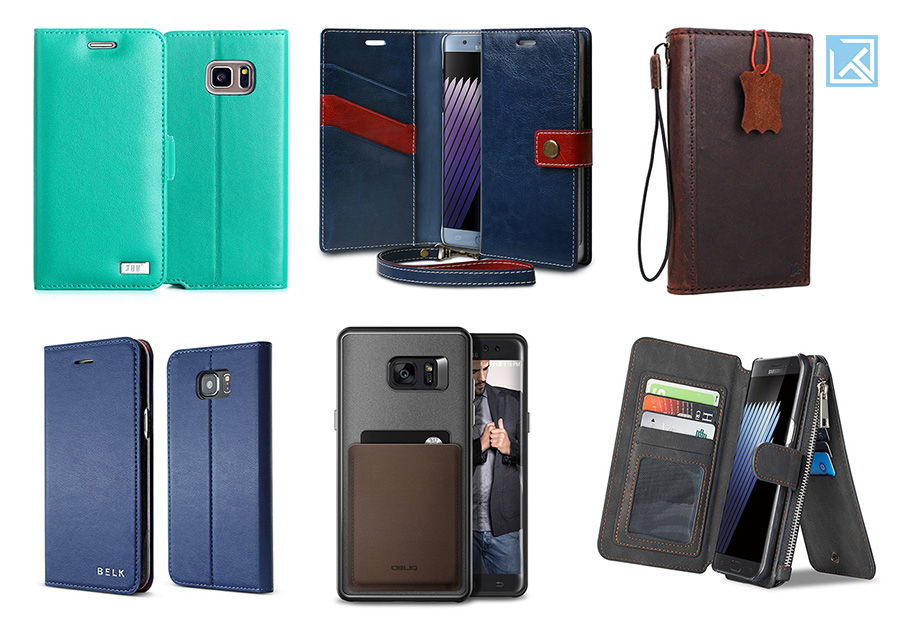 Best Galaxy Note 7 Wallet Cases