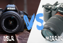DSLR vs Mirrorless Camera