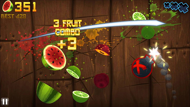 Fruit Ninja for Note 7