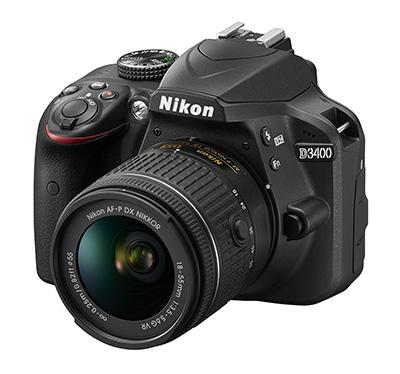 Nikon D3400 entry level camera