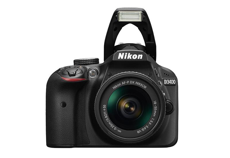 Nikon D3400 with flash