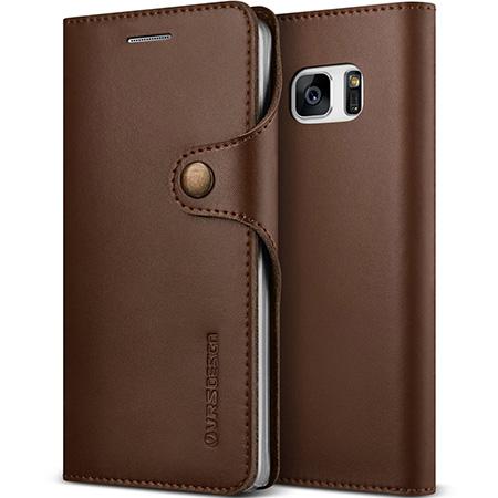 Verus Genuine Leather Wallet Galaxy Note 7 Case