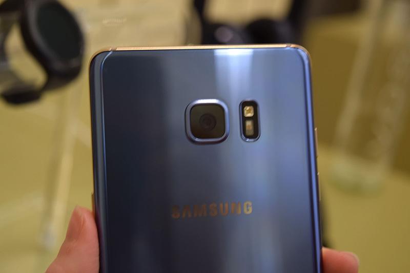 Samsung Galaxy Note 7 Camera