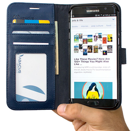 Abacus Galaxy S7 wallet case
