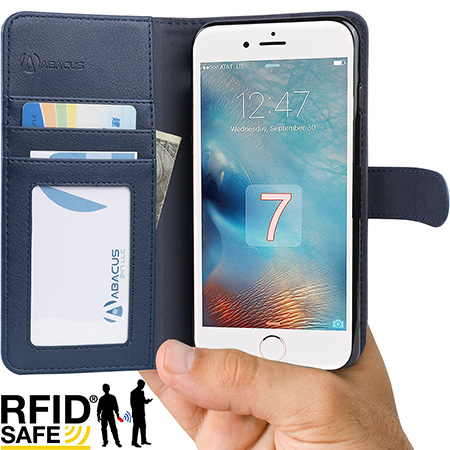 Abacus iPhone 7 Plus wallet case