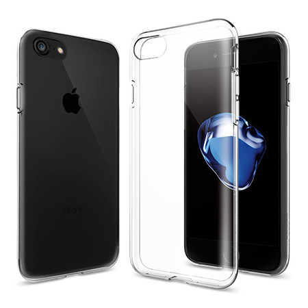 Best clear iPhone 7 case Spigen liquid crystal