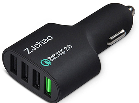 Best iPhone 7 accessories zjcha car charger
