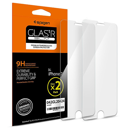Best iPhone 7 tempered glass-screen-protector Spigen