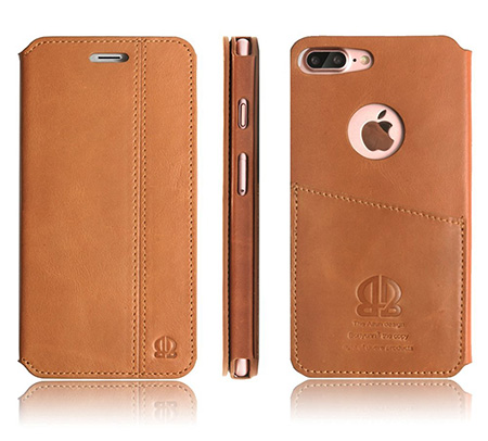 Boriyuan iPhone 7 Plus leather case