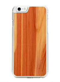 Carved iPhone 7 wood case
