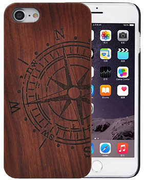 Fulllight tech iPhone 7 wood-case