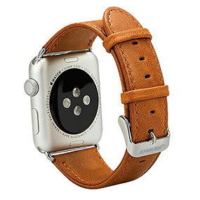 Jisoncase leather Apple Watch series 2 case