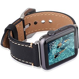 Mkeke Apple watch series 2 leather band.