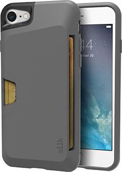Silk iPhone 7 card holder case
