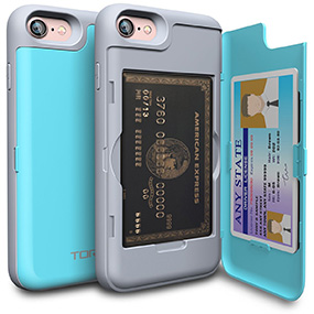 Toru iPhone 7 case with card holder