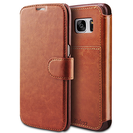 Taken S7 edge Wallet Case