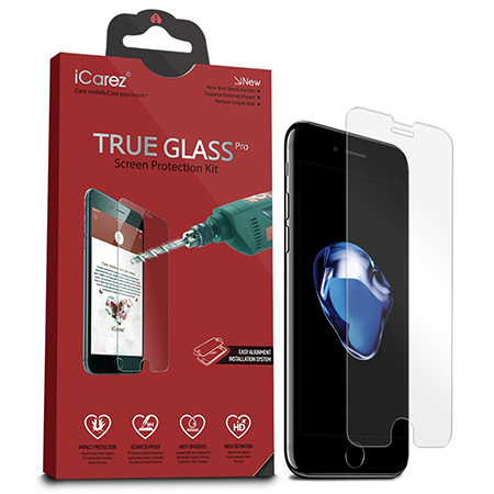 iCarez tempered glass screen protector