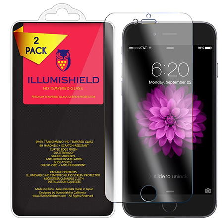 illumishield clear iPhone 7 screen protector