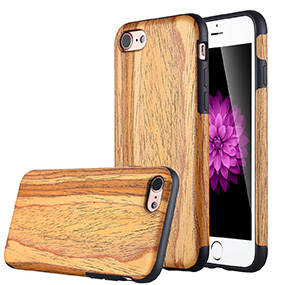 iPhone 7 wood case from lontect