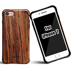 iPhone 7 wood case from newisdom