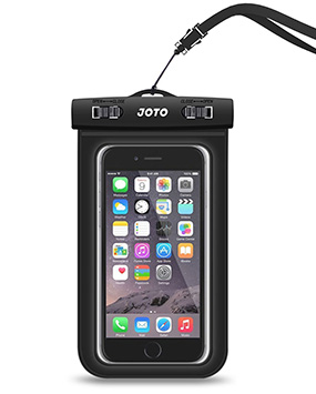 Joto Waterproof iPhone 7 Plus pouch