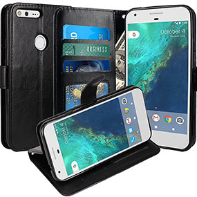 LK best Google Pixel leather case
