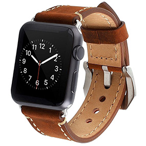 Mkeke Apple Watch Series 2 leather replacemnet band