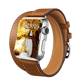 NBEYOUNG Apple Watch Series 2 leather band