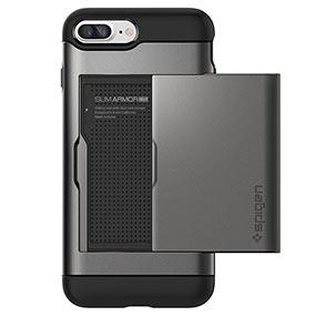Spigen iPhone 7 Plus case with card holder