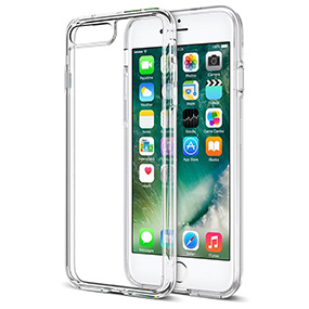 Trainium iPhone 7 Plus clear case.