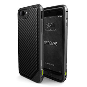 X Doria carbon fiber iPhone 7 Plus case