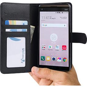 Abacus LG V20 wallet case