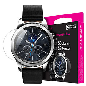 Araree screen protector for Samsung Gear S3