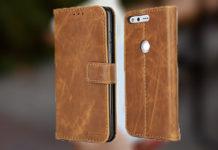 Best Google Pixel XL leather case