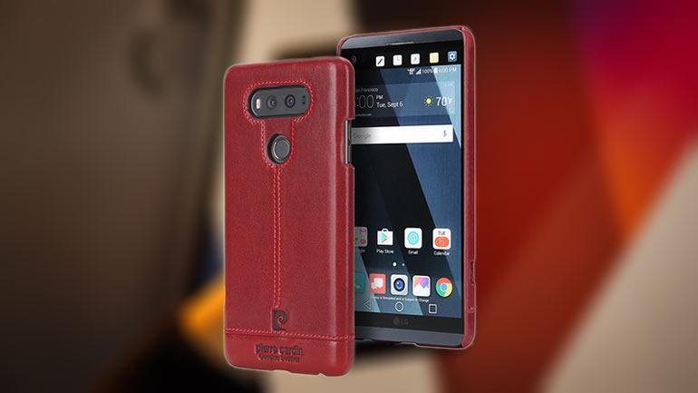 Best LG V20 leather cases