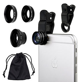 Camkix smartphone lens kit for photographer