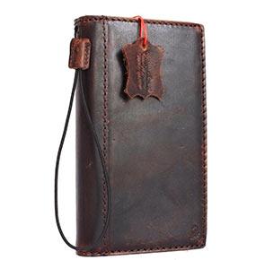 Genuine leather LG V20 wallet case