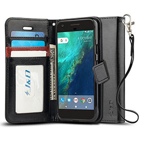 JD Google Pixel XL wallet case