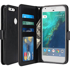 LK Google Pixel XL wallet case