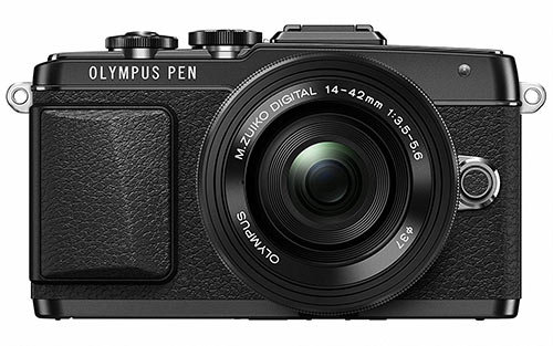 Olympus E-PL7 mirrorless camera under 500 dollars